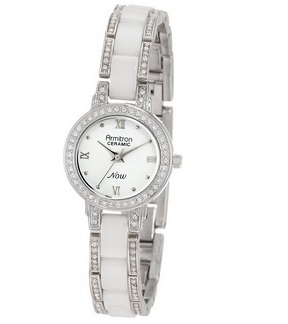 Armitron NOW Women's 753919WTSV Ceramic Watch