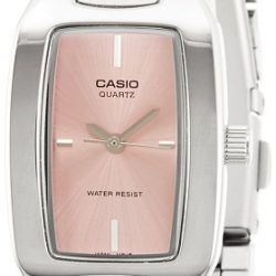 Casio Women's Classic Sleek Silver-Tone Analog Watch