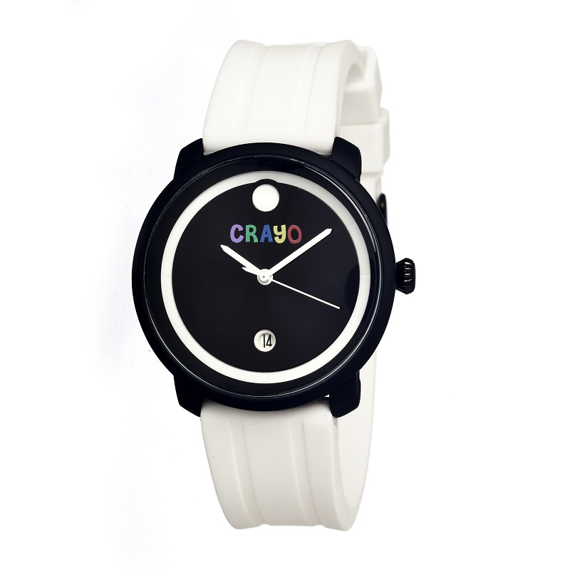 Đồng hồ Crayo - Trắng