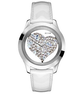 GUESS U0113L6 Heart Watch