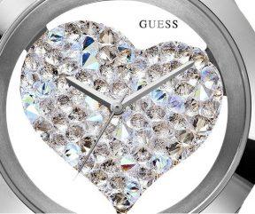 GUESS U0113L6 Heart Watch