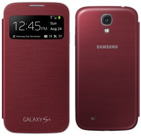 Samsung Galaxy S4 S-View Flip Cover