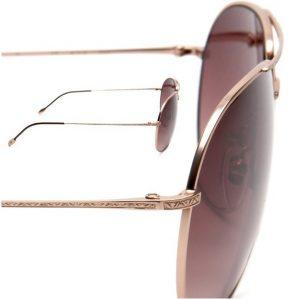 John Varvatos Men's V761 Aviator Sunglasses