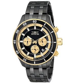 Invicta Men's 17738 Specialty Analog Display Japanese Quartz Black Watch