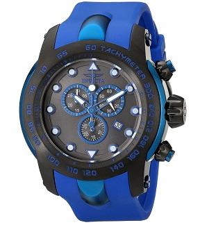 Invicta Men's 18028SYB Pro Diver Analog Display Swiss Quartz Blue Watch