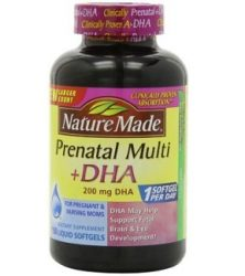 Nature Made Prenatal Multi-Vitamin Plus DHA