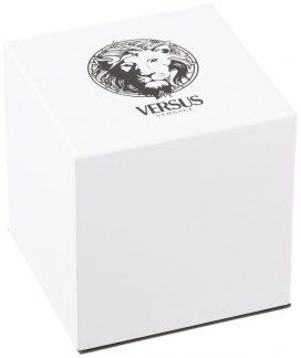 Versus by Versace Women's SGO010013 Agadir Analog Display Japanese Quartz Silver Watch