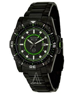 Bulova Men's Marine Star Stainless Steel Watch 98B178