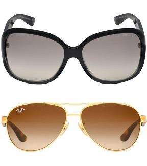 Sunglasshut giảm thêm 33% mắt kính RayBan, Prada, Burberry…