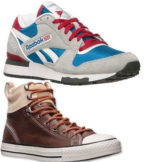 Finishline giảm hàng loạt sản phẩm giầy hiệu