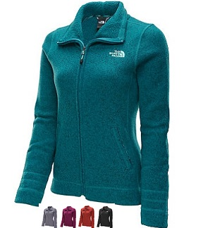 THE NORTH FACE Women's Crescent Sunset Full-Zip Top