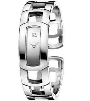 Calvin Klein Women's K3Y2S118 Swiss Quartz Silver Watch