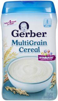 Bột ăn dặm Gerber Baby Cereal - Multigrain