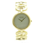 Citizen Womens EM0222-58P Silhouette Eco-Drive Gold Tone Link Bracelet Watch