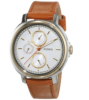 Fossil Women's ES3523 Chelsey Two-Tone Stainless Steel Watch