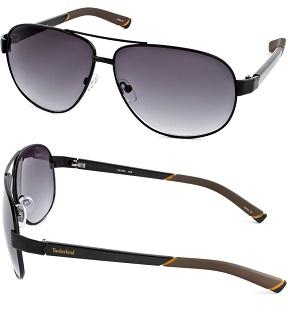 Timberland Men's Fashion Sunglasses - Black / Gray Gradient