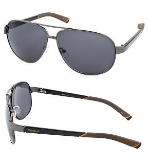 Timberland Men's Fashion Sunglasses - Gunmetal / Gray