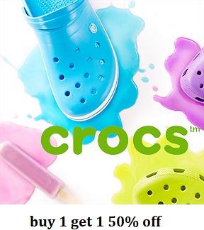 Crocs : Mua 1 giảm 1- 50%