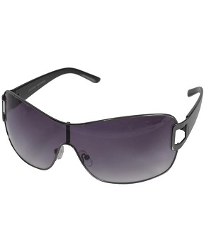 Kenneth Cole Reaction Unisex Gunmetal Sunglasses