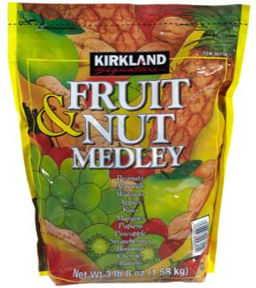 Kirkland Fruit & Nut Medley