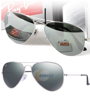 RayBan RB3025 Aviator Mirror Metal Sunglasses