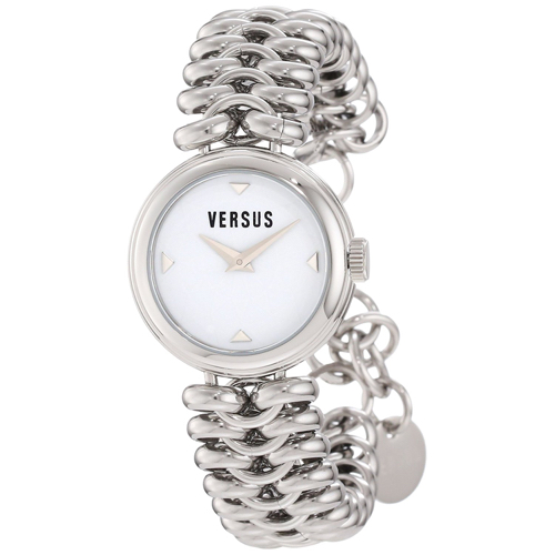 Versus by Versace Women's 3C68400000 Optical Stainless Steel White Dial Watch