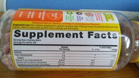 Kẹo dẻo L'il Critters Calcium + Vitamin D3 Gummy Bears