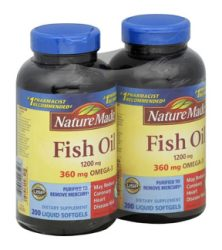 Dầu cá Omega 3 Nature Made Fish Oil 1200mg