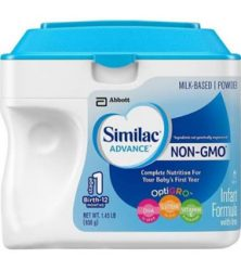 Sữa bột Similac Advance Non-GMO Infant Formula