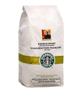 Cafe nguyên hạt Starbucks Whole Bean French Roast Coffee