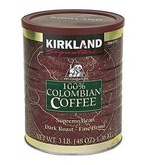 Cà phê Columbia Kirkland