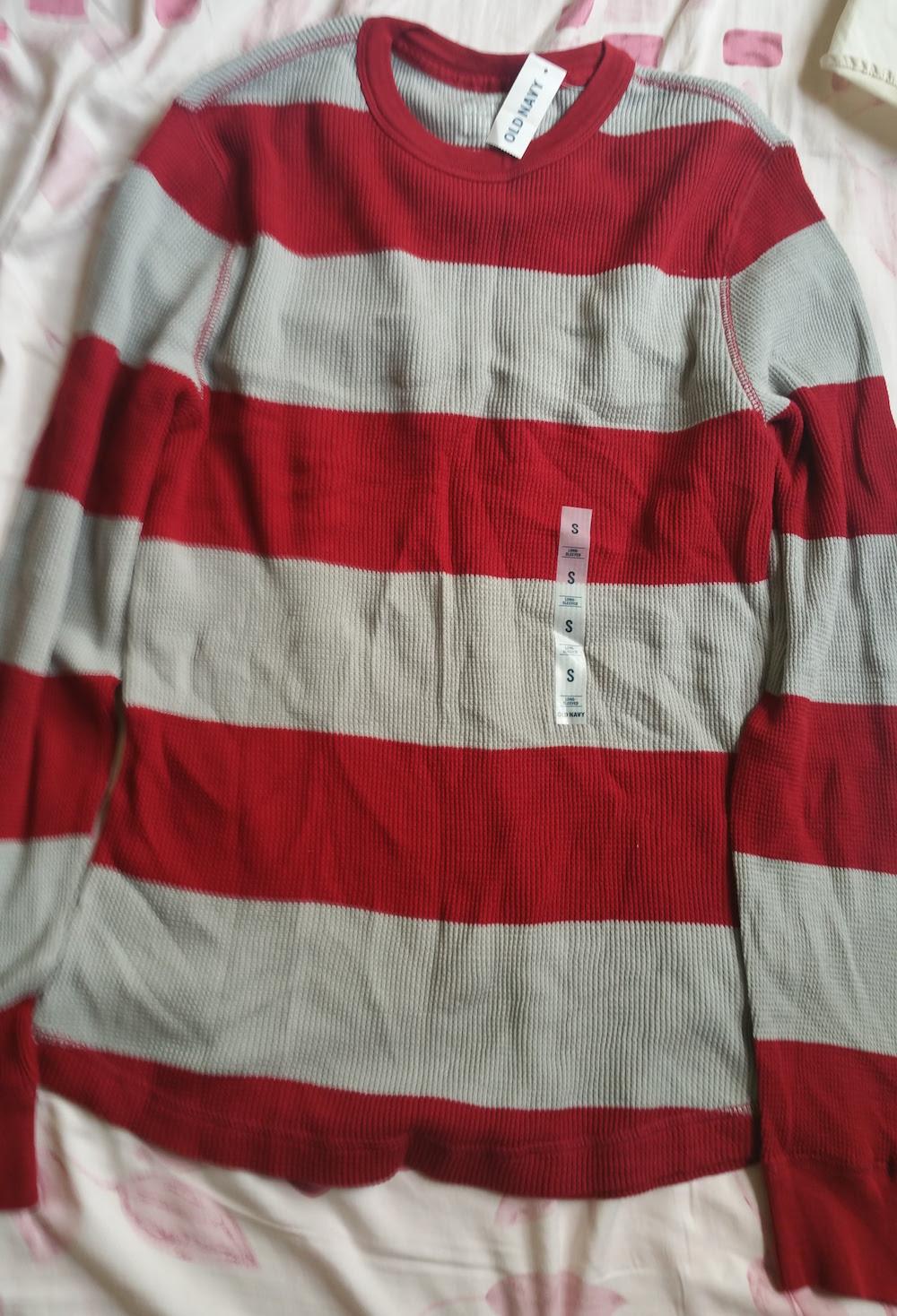 Áo thun tay dài Old Navy - Đỏ