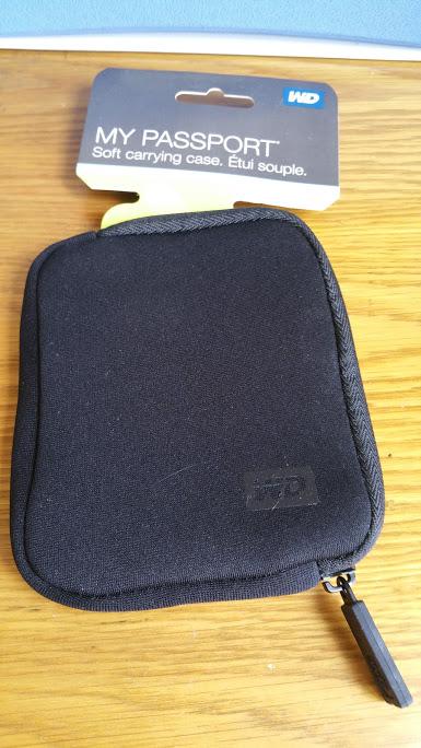 Túi bảo vệ ổ cứng WD My Passport