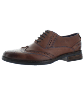 Giầy Steve Madden Virgo Men's Brogue Wingtip Oxford Dress Shoes