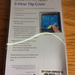 Samsung Galaxy Note 4 SView FlipCover Red