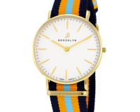 Brooklyn Flatland Casual Super Slim Swiss Quartz Watch Item No. BW104-U21144