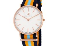 Brooklyn Flatland Casual Super Slim Swiss Quartz Watch Item No. BW104-U31144