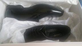 Giầy CK chính hãng : Calvin Klein Carwin Box Smooth Oxford