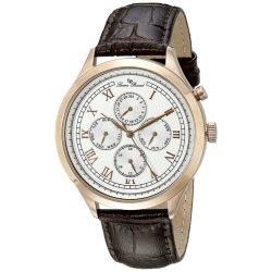Lucien Piccard Men's LP-10333-RG-02-BRW Besana Stainless Steel Watch