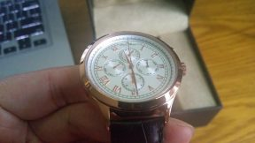 Đồng hồ Lucien Piccard Men's LP-10333-RG-02-BRW