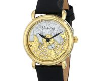 Stuhrling Original Women's 715.02 Vogue Jezebel Analog Display Swiss Quartz Black Watch