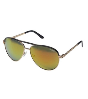 Kính nữ GUESS Aviator Sunglasses GF0268-28Z