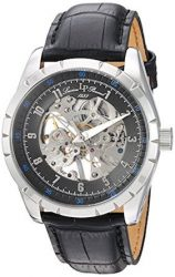 Lucien Piccard Watches Hampton Mechanical Leather Watch
