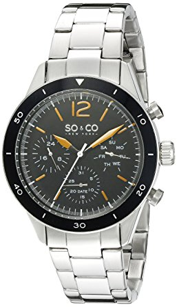 SO&CO New York Men's 5032.1 Yacht Timer