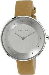 Skagen Gitte Leather Watch
