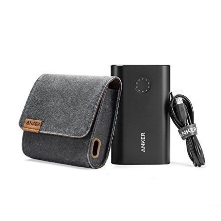 Sạc dự phòng Anker PowerCore+ 10050, Premium Aluminum Portable Battery Charger with Qualcomm Certified Quick Charge 2.0 Technology, Premium Travel Pouch Included