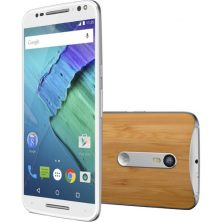 Moto X Pure Edition 64GB Smartphone (Unlocked, White/Bamboo)