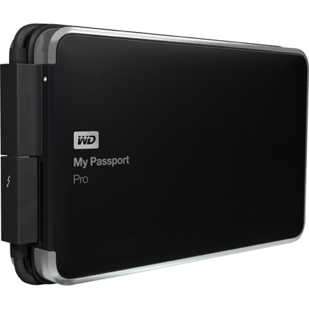WD 2TB My Passport Pro Portable RAID Storage Drive WDBRMP0020DBK-NESN