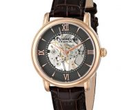 Stuhrling Original Men's 458G2.3345K54 Classic Chamberlain Hand Wind Brown Watch
