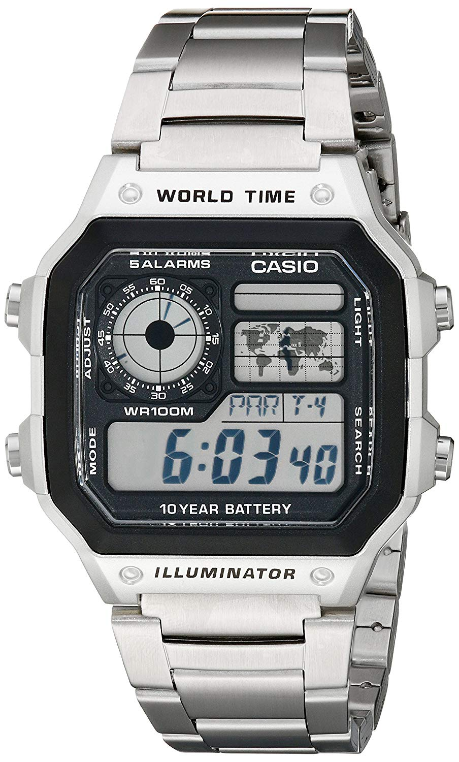Casio Men's AE1200WHD-1A Digital Watch